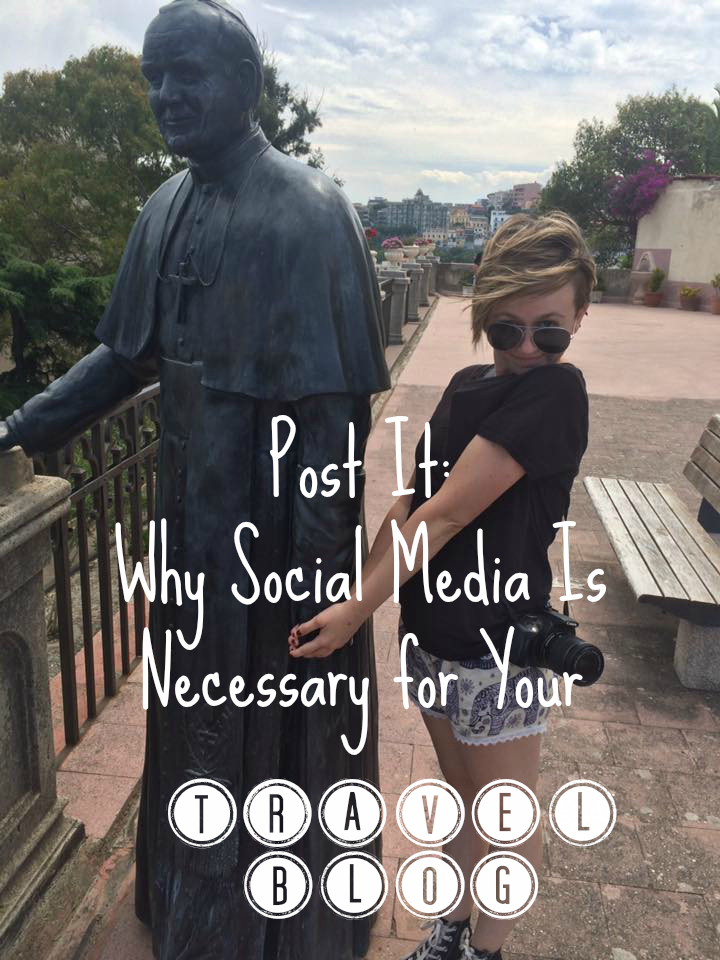 social media travel blog