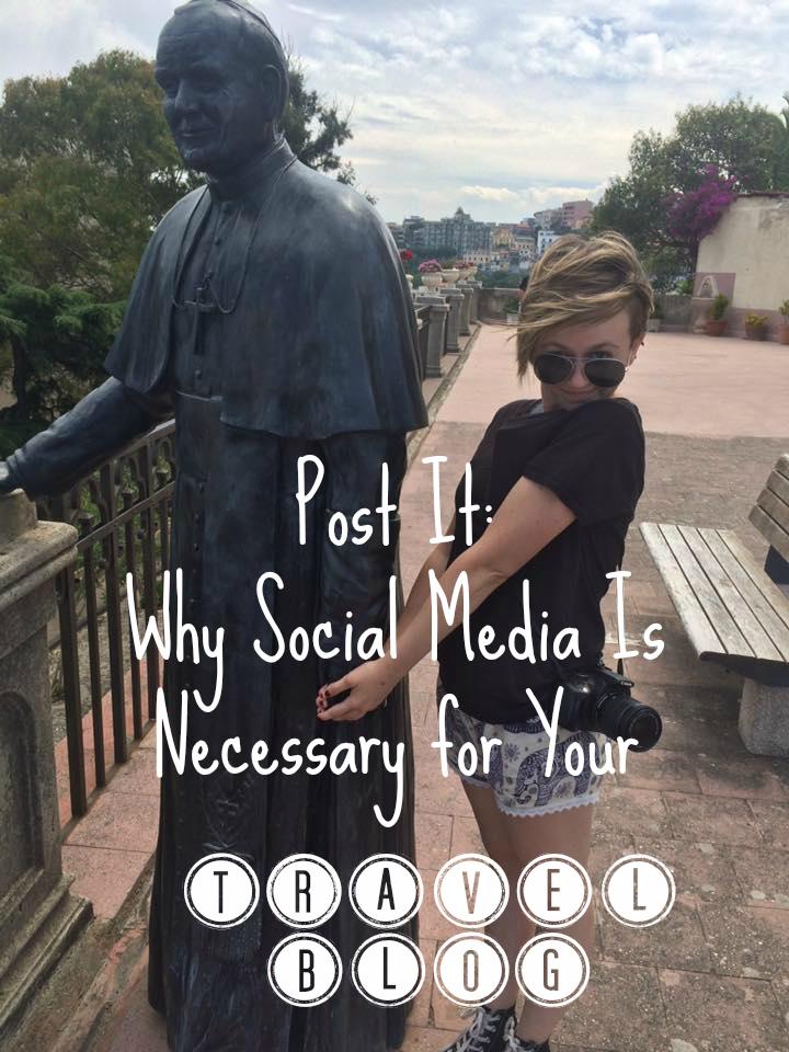 social media travel blog