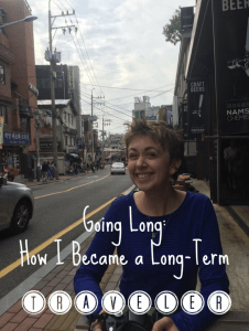 becoming a long term traveler