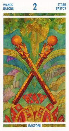 Splitting the Atom: Two of Wands
