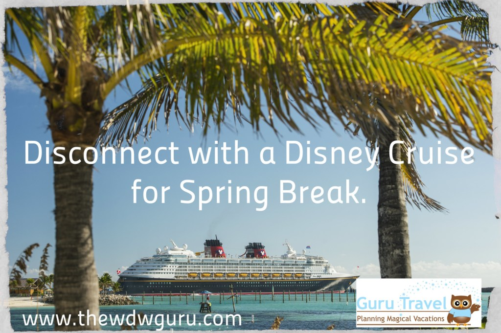 Disney Cruise Line Spring Break