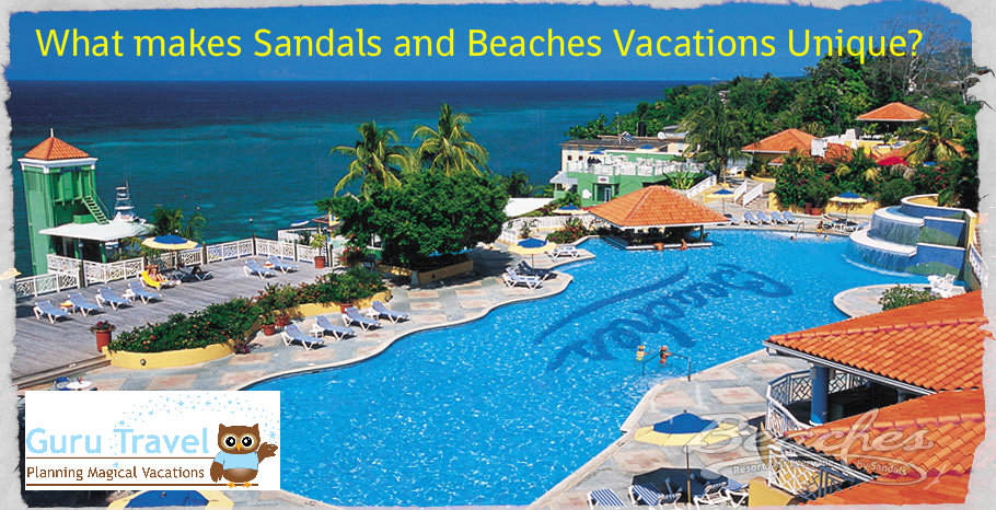 What makes Sandals and Beaches Vacations Unique?