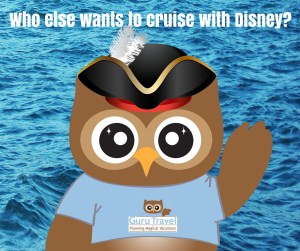 Who else wants to cruise with Disney?