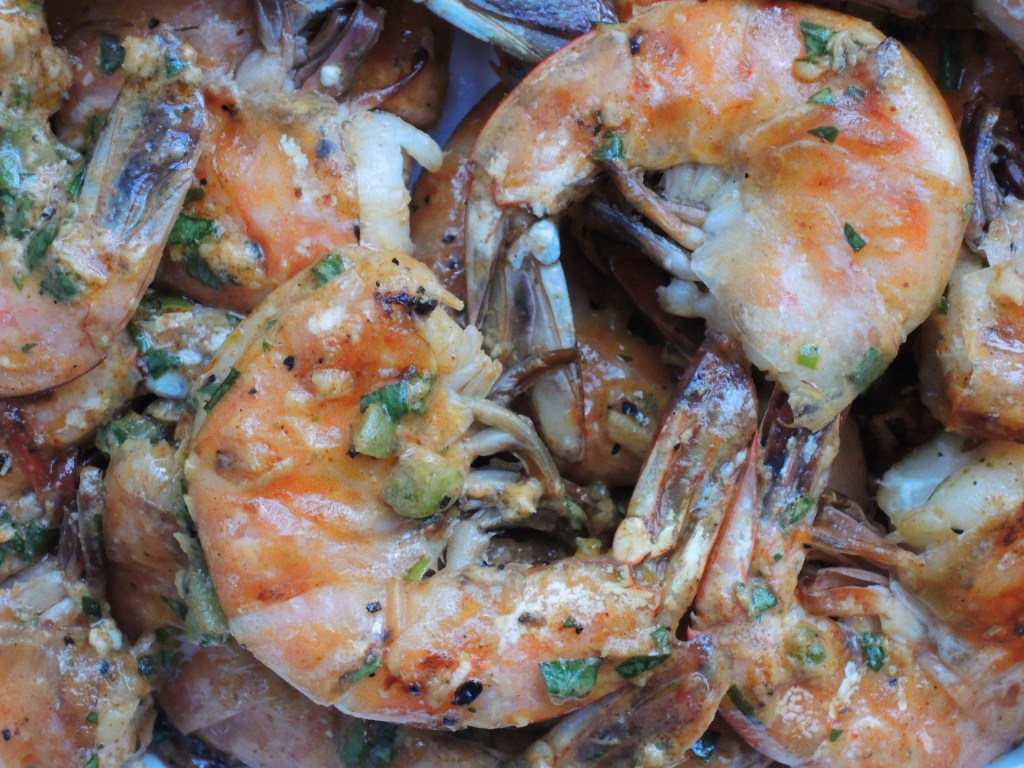 Shrimp, pan-grilled jumbo shrimp remoulade 2
