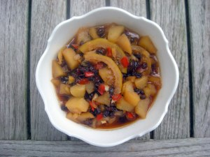 Condiments, chutneys, pear chutney 1