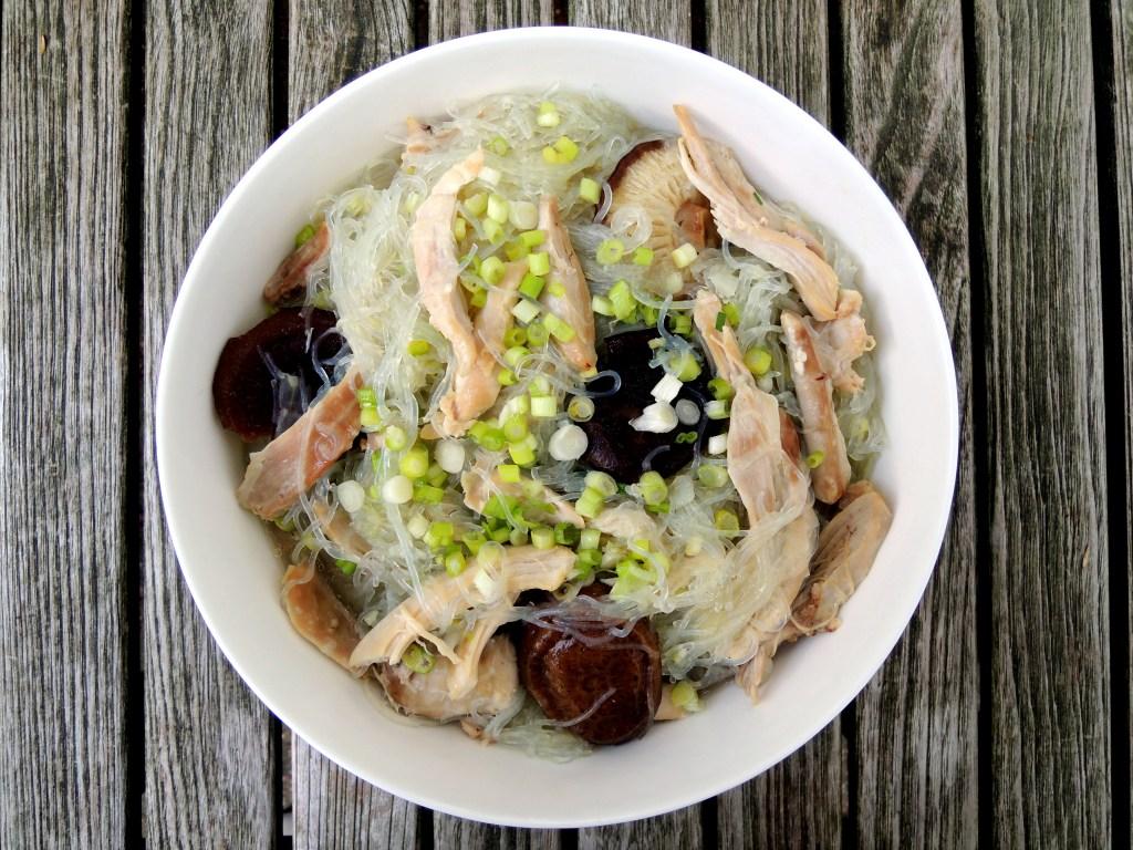 Pasta, sai fun, chicken long rice (Hawaiian) 1