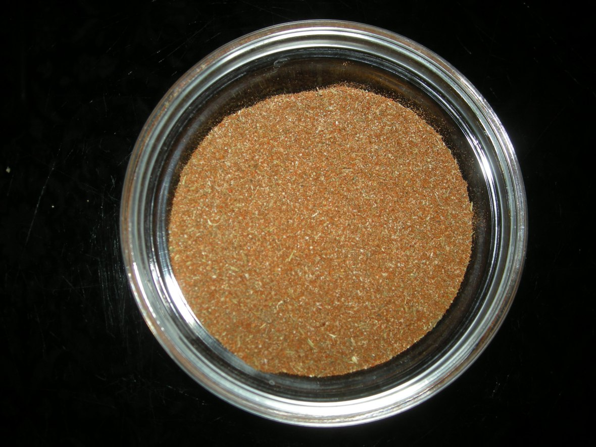 Condiments, spice blends, Cajun spice powder 1