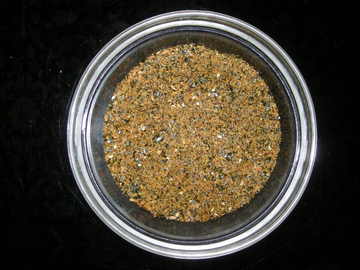 Condiments, spice blends, Japanese-style seasoning salt 1