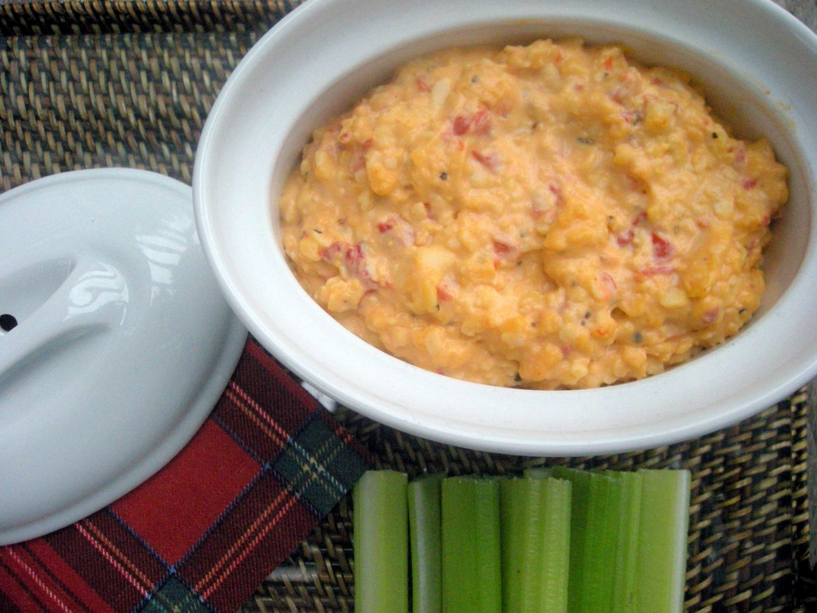 Appetizers, dips and spreads, Nana's pimiento cheese spread 1