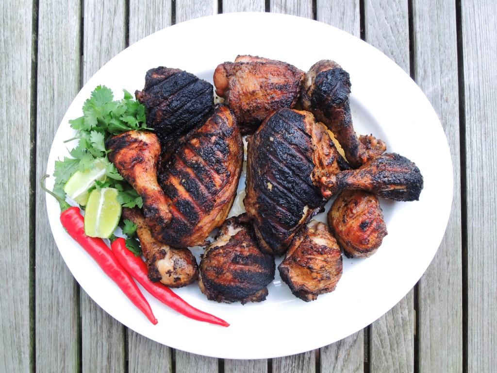 Chicken, grilled, pollo a la brasa 1