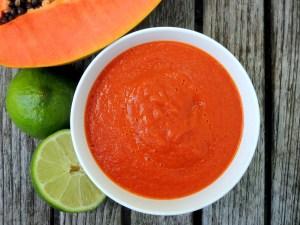 Condiments, ketchups, papaya ketchup 2