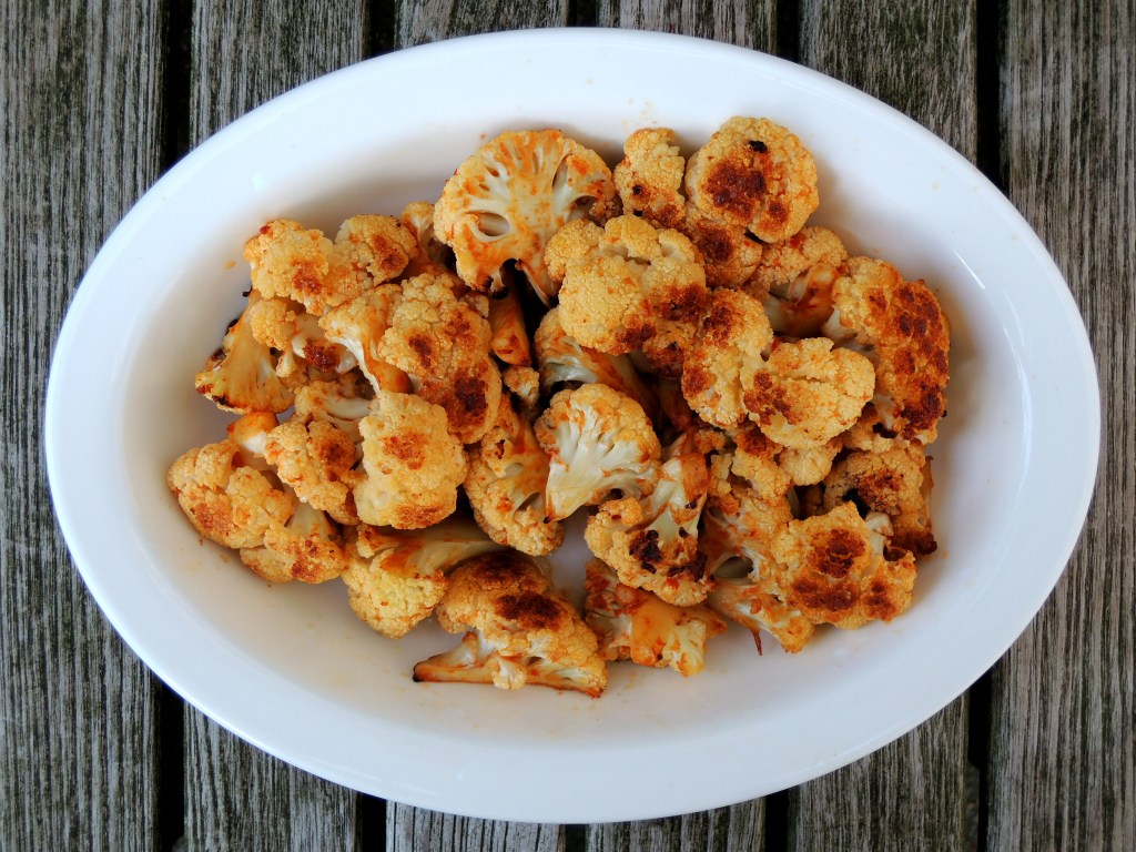 Vegetables, cauliflower, roasted cauliflower with sesame and sriracha 1