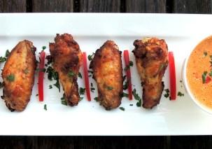 Appetizers, chicken wings, Barbary wings 1