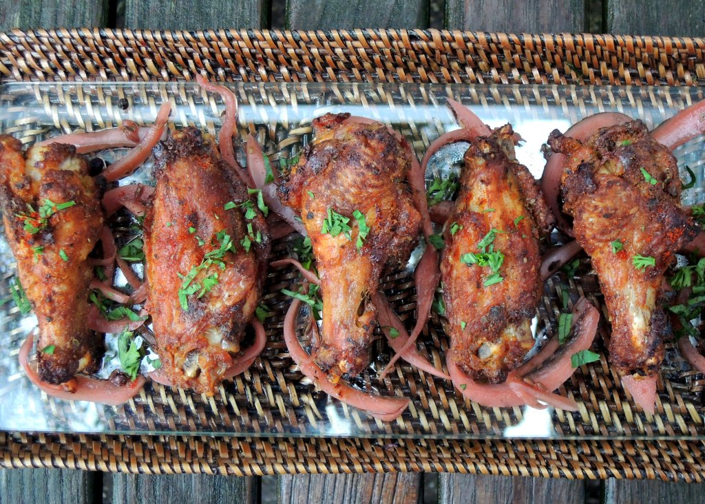Appetizers, chicken wings, Barcelona wings 1