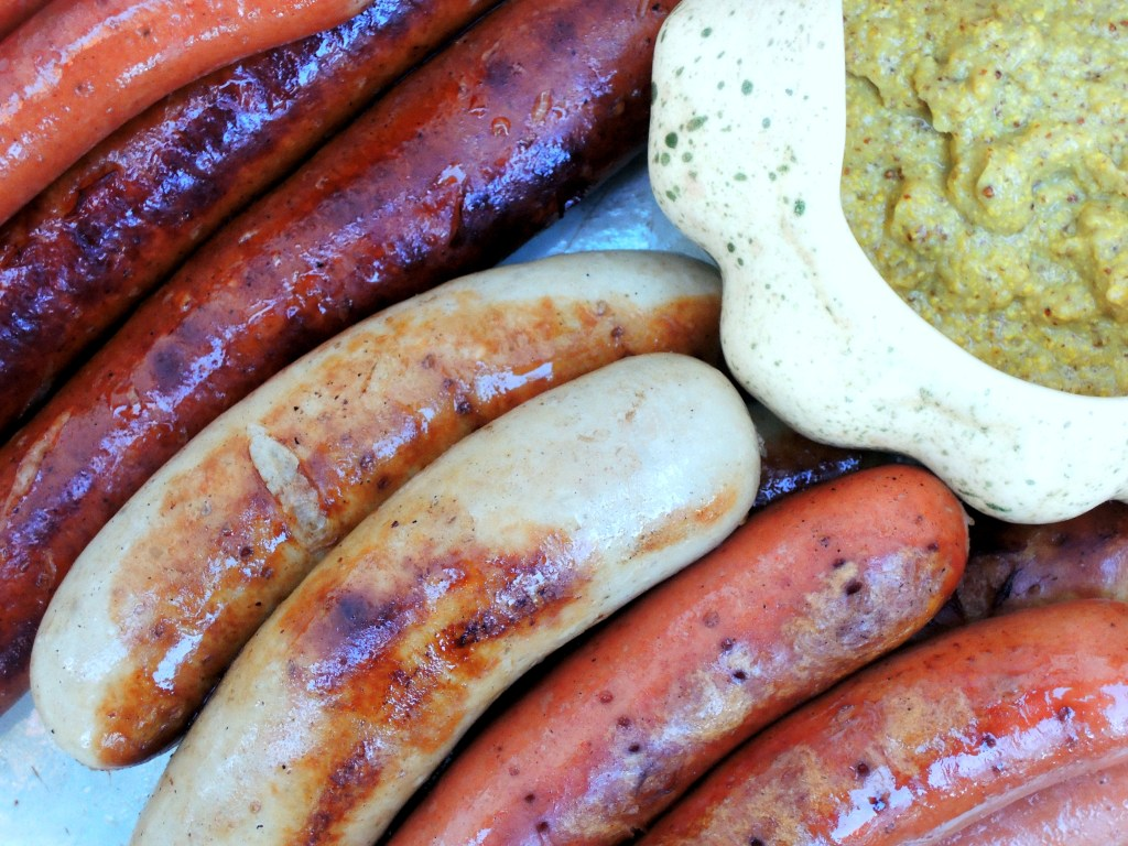 Sausages, arundel (German sausages in ale) 2