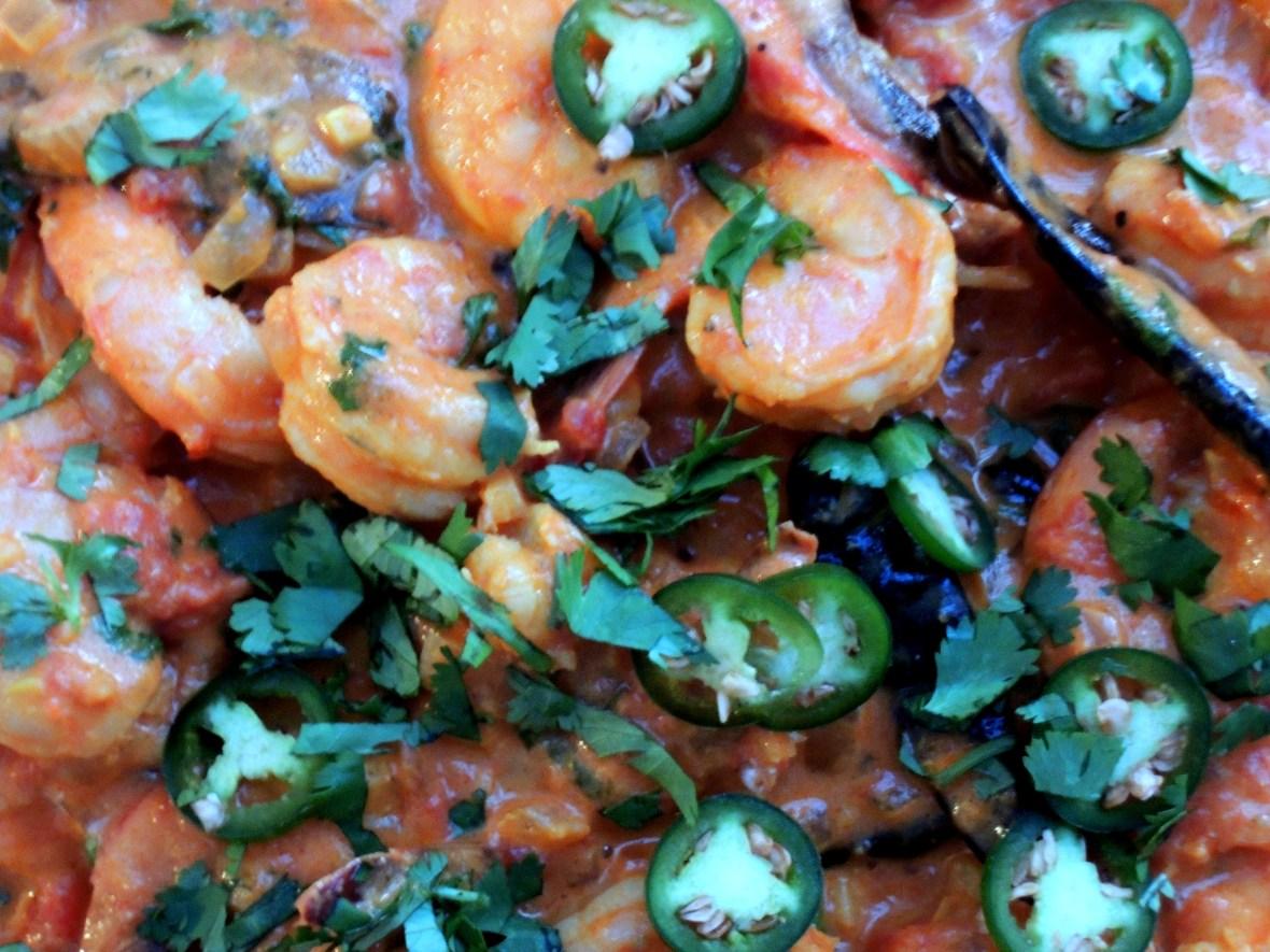 Shrimp, braised, Goan-style shrimp curry 2