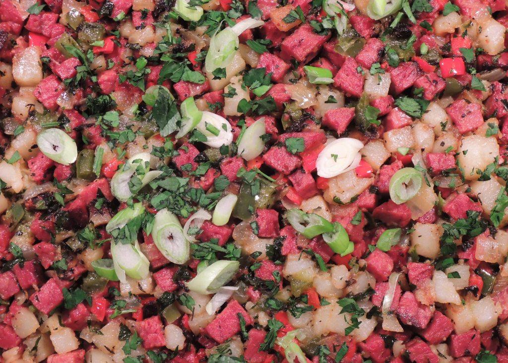 Hash, confetti corned beef hash 2