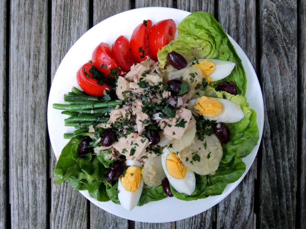 Salads, tuna, salade Nicoise 1