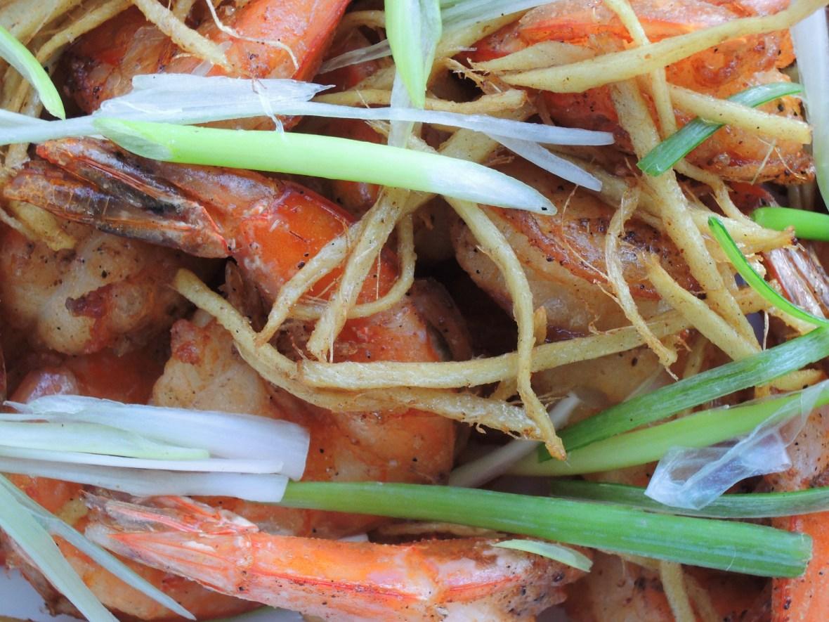 Shrimp, fried, Hong Kong salty peppery shrimp 2