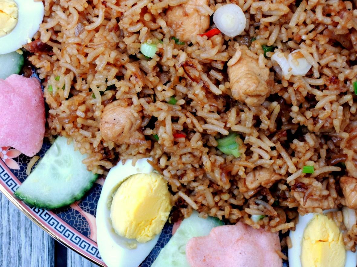 Rice, fried rice, nasi goreng (Indonesian fried rice) 2