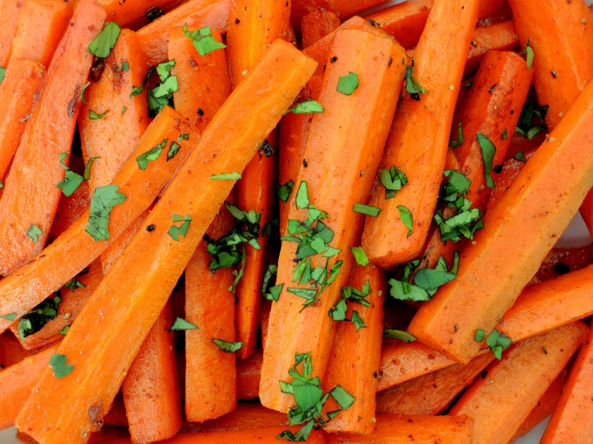 Vegetables, carrots, braised carrots with Moroccan flavors 3
