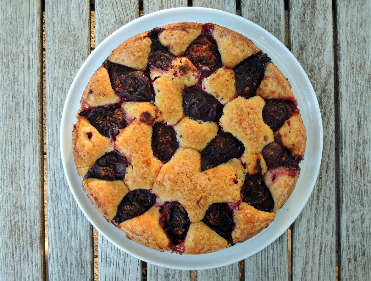 Desserts, cakes, tortes, purple plum torte 1.JPG