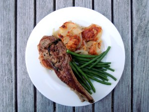 veal, sauteed veal chops with tarragon and wine 1