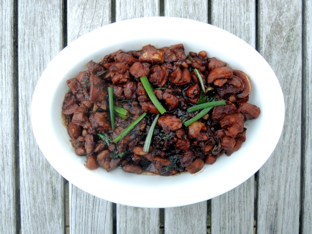 Chicken, fricassees, ban li shao ji (Chinese chicken with chestnuts) 1