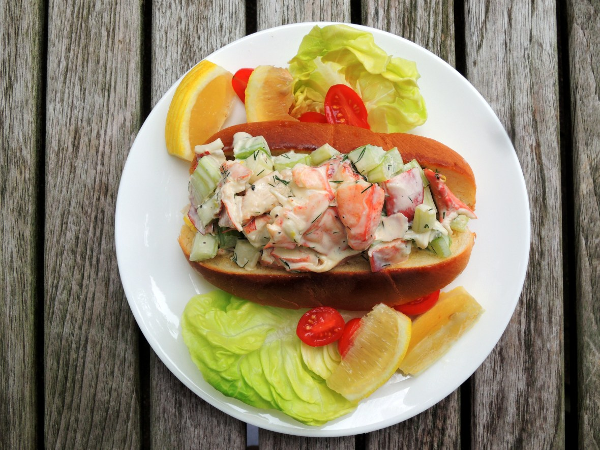 Sandwiches, lobster roll 1