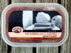 Desserts, cheese and fruit, manchego and membrillo (Spanish sheep's milk cheese and quince paste), membrillo 3