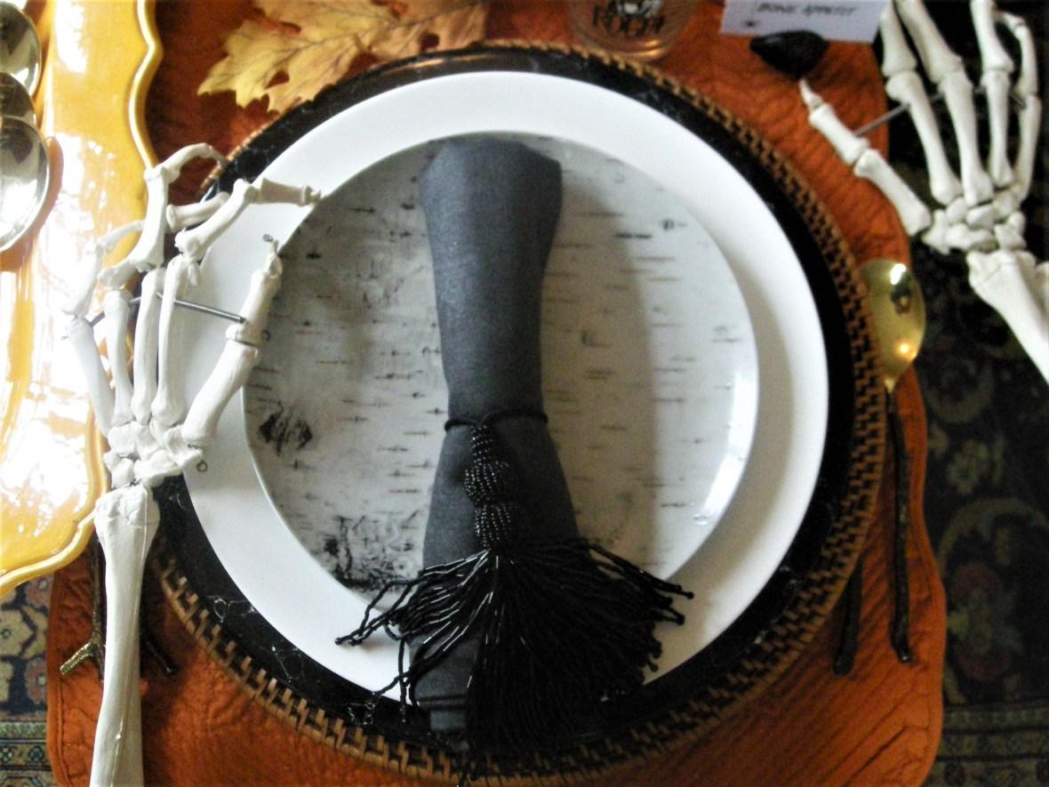 Cookware, Michael Aram Twig flatware, Halloween 3
