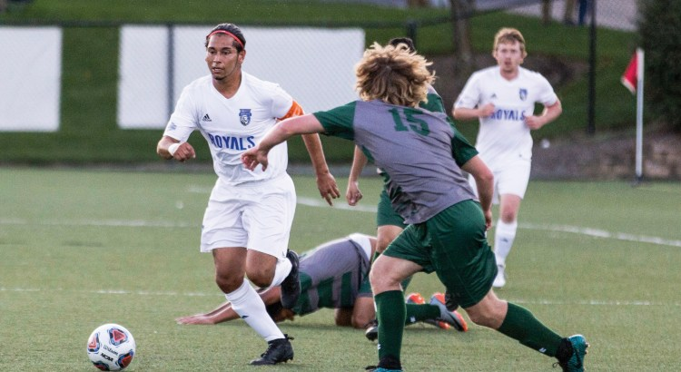 Eastern Mennonite University soccer player Juan Luna