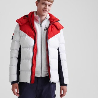 Superdry Superdry Icon Racer Sports Puffer Jacket