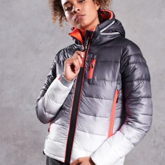 Superdry Superdry Polar Power Fade Puffer Jacket