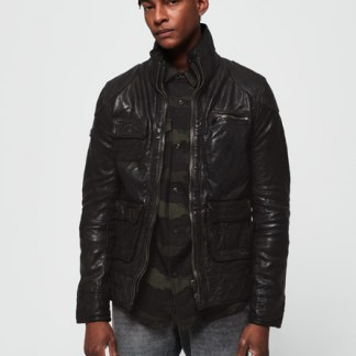 Superdry Superdry Tarpit Leather Jacket
