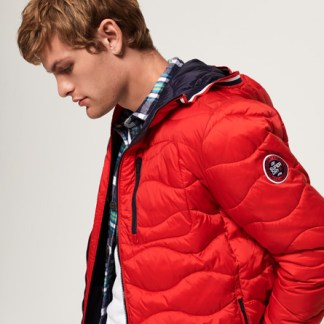 Superdry Superdry Wave Quilt Jacket