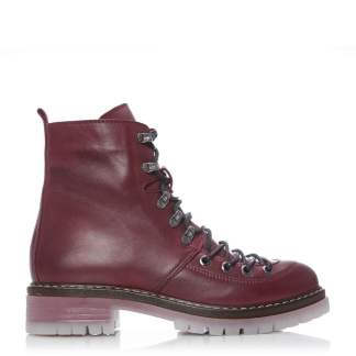 Moda In Pelle Birna Burgundy Leather