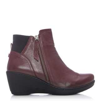 Moda In Pelle Danise Burgundy Leather