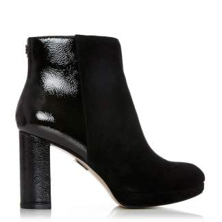 Moda In Pelle Kaliser Black Suede