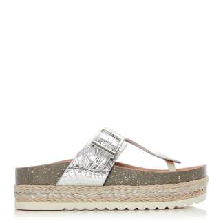 Moda In Pelle Wilow Silver Porvair