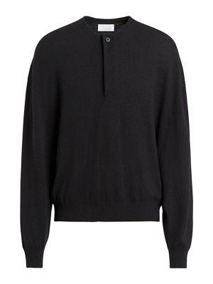 Fearofgodzegna Black Button-up Sweater