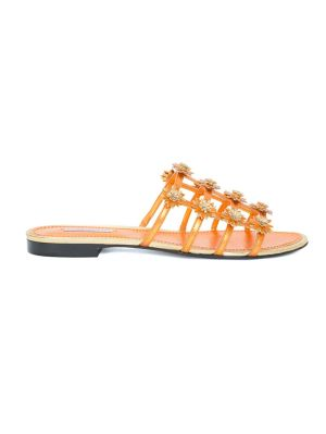 Daisy Appliqued Sandals