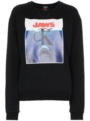 Jaws Logo Cotton Sweatshirt