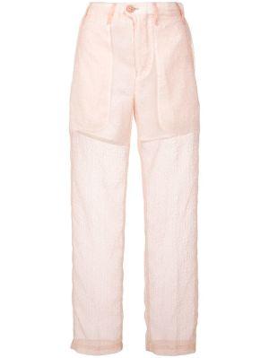 Slim Sheer Trousers