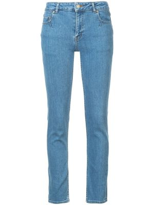 Woven Skinny Jeans
