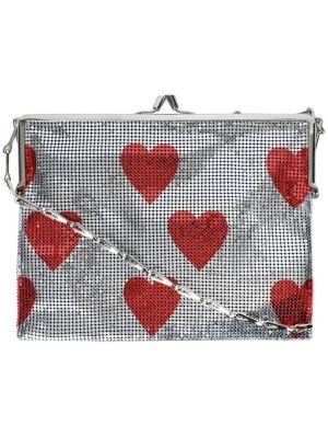 Heart Pixel Frame 1969 Evening Bag