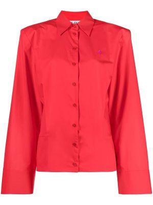 Parachute Canvas Shirt, Red