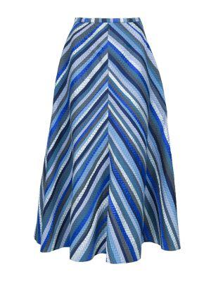 Rosie Assoulin X The Webster A-line Skirt