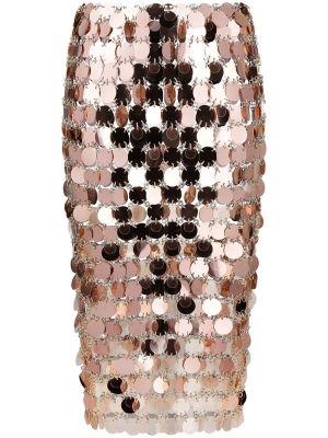 Rose Pink Jupe Midi Skirt