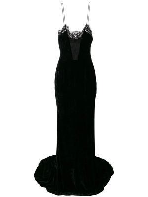 Lace And Velvet Gown